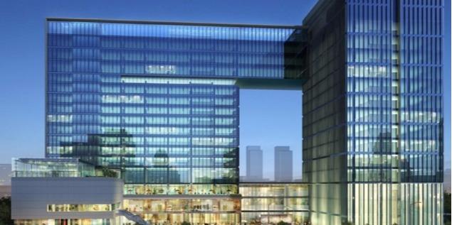 长沙东景五星级酒店及办公楼综合体项目