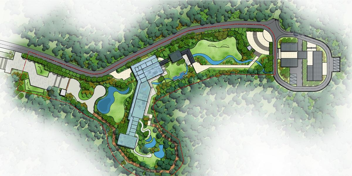 长沙市黔灵山公园动物园熊猫馆