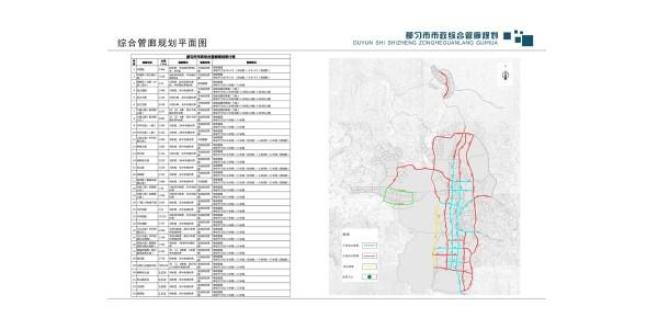 都匀市市政综合管廊规划